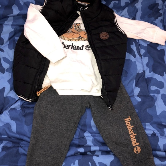 Timberland 3pc Outfit